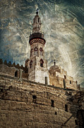 Archeology Posters - Abu Haggag Mosque Poster by Erik Brede