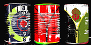 Cans Mixed Media - Abundance in a Can Pop Art Print by Anahi DeCanio