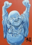 Laughing Painting Prints - Abundance Print by Tom Roderick