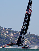 San Francisco Metal Prints - Ac34 2013 Metal Print by Steven Lapkin