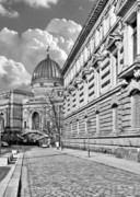 University Metal Prints - Academy of Arts Dresden Metal Print by Christine Till