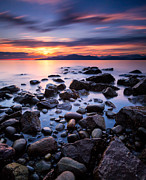 North Vancouver Metal Prints - Acadia Beach Metal Print by Alexis Birkill