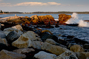 Brent L Ander - Acadia Coast at Seawall...