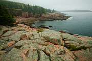 Brent L Ander - Acadia Fog at Monument...