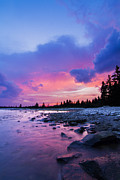 Laval Framed Prints - Acadia National Park Sunset Framed Print by Mircea Costina Photography
