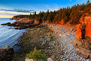 Nubble Lighthouse Metal Prints - Acadia NP  Metal Print by Emmanuel Panagiotakis