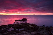 York Beach Metal Prints - Acadia sunrise  Metal Print by Emmanuel Panagiotakis