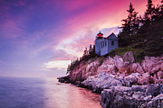Laval Framed Prints - Acadia Sunset Framed Print by Mircea Costina Photography