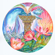 Kate Bedell - Ace of Cups Mandala