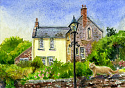 Jacquelin Vanderwood - ACEO Old English House...