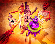 Hookah Prints - Aces High Print by Bob Orsillo