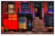 Nyc Digital Art Posters - Acid with an Edge Poster by Lar Matre