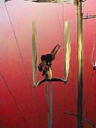 Acrobatic Aerial Artistry1 Print by Anne Mott