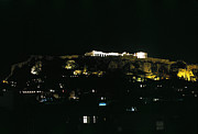 Europe Photo Originals - Acropolis Athens Night by Jan Faul