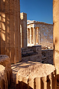 Repair Framed Prints - Acropolis Temple Framed Print by Brian Jannsen