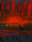 Kathy Peltomaa Lewis - Across The Lake-The Worshipers