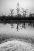 Davorin Mance Metal Prints - Across the water Metal Print by Davorin Mance