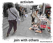 Unity Digital Art Originals - Activism - Join With Others by Mike Hoyle