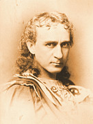 Edwin Booth Prints - Actor Edwin Booth c1860 Print by Padre Art