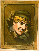 Color Lithographs Photo Acrylic Prints - Actor Fritz-Emmet 1880 Acrylic Print by Padre Art