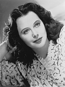 Lamarr Posters - Actress Hedy Lamarr Poster by Underwood Archives