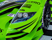 Racing Art - Acura Patron Car by Scott  Wyatt