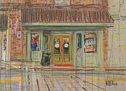 Business Drawings - Acworth Shop by Donald Maier