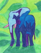 Zoo Pastels - Ada-unt by Ashley King