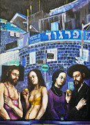 Jerusalem Mixed Media Posters - Adam and Eve Poster by Nekoda  Singer