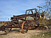 Adams Leaning Wheel Grader Number 8 Print by Lee Craig
