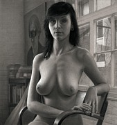 Female Nude Drawings - Addendum by Dirk Dzimirsky