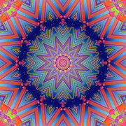 Kaleidoscopic Posters - Adelaide Poster by Wendy J St Christopher