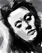 London England  Digital Art Originals - Adele by Ahmad Alyaseer