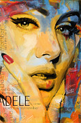 Adele Print by Corporate Art Task Force