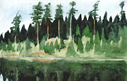 Robert Coppen - Adirondack Pond