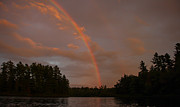 Adirondacks Prints - Adirondack Rainbow Print by Steve Clough