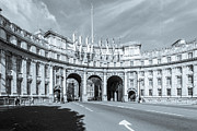 A Souppes - Admiralty Arch B and W