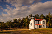 Whidbey Island Prints - Admiralty Head Lighthouse Print by Dan Mihai