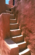 Carl Purcell - Adobe Steps in Taos