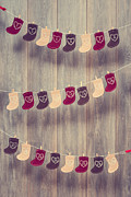 Dates Prints - Advent Calendar Print by Christopher and Amanda Elwell