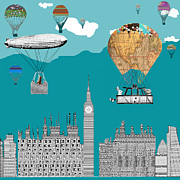 Adventure Days London Print by Bri Buckley