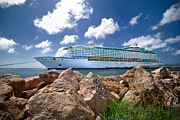 Adventure Of The Seas Prints - Adventure of the Seas Print by Amy Cicconi