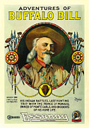 Movie Poster Prints Posters - Adventures of Buffalo Bill Poster by Movie Poster Prints