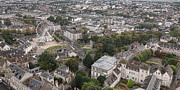 City Streets Photos - Aerial Chartres by Olivier Le Queinec
