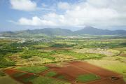 Featured Prints - Aerial Kauai Landscape Print by Kicka Witte