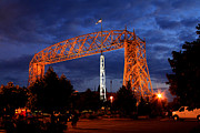 Duluth Art - Aerial Lift Bridge by Lori Tordsen