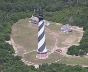 Cathy Lindsey - Aerial of Hatteras Light...