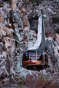 Tram Framed Prints - Aerial Tram Palm Springs Framed Print by Viktor Savchenko