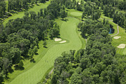Dan Thornberg - Aerial view of a golf...