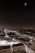 Francesco Rizzato - Aerial View of Paris in...